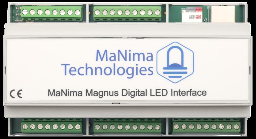 MaNima Magnus-Architectural-LED-Pixel-Controller-Digital-Interface