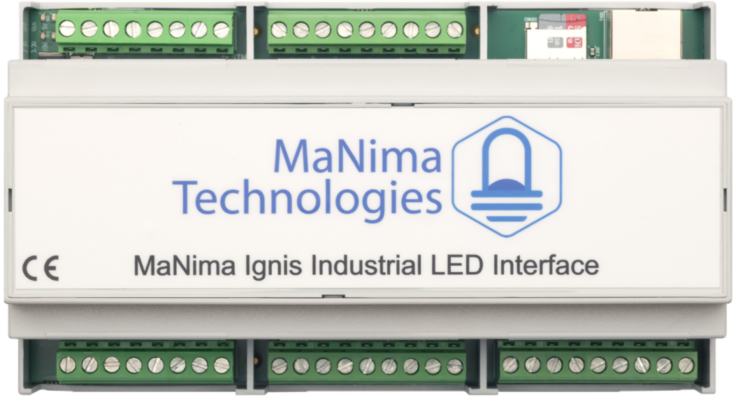 MaNima Ignis-Industrial-LED-Pixel-Controller-Interface